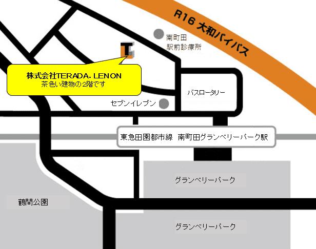 所在地地図